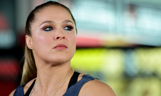 Rousey UFC 193