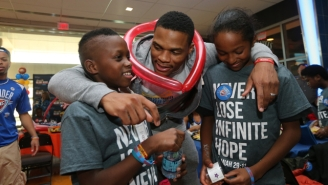 Here Are Some Amazing Pics From The Thunder's 'Night At The Arena' Charity Event