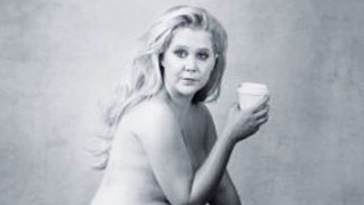 Amy Schumer Just Shared A Candid, Nude Photo Taken Of Her By Annie Leibovitz