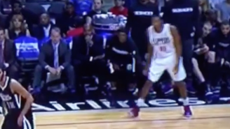 Rajon Rondo Got Up To His Old Tricks And Yanked On Wes Johnson's Shorts