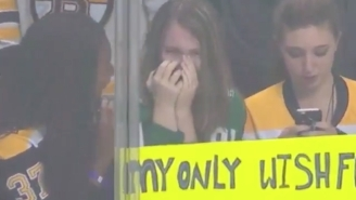 Tyler Seguin Made A Teenage Girl Openly Weep After Throwing Her A Puck