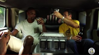 Of Course You Want To See Chris Bosh Brewing Beer In The Back Of A Hummer