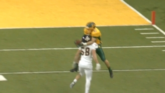 This Amazing Catch By A North Dakota State Receiver Caught A Defender Completely Off Guard