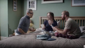 Jeff Goldblum's New Ad Campaign Teaches Us How To Accept Bad Gifts This Christmas