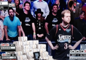 The World Series Of Poker's Champion Won Wearing An Iverson Jersey