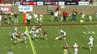 Florida State's Dalvin Cook Plows Through Defenders En Route To An Amazing Touchdown