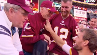 Kirk Cousins Shared A Great Moment With His Dad, Who Attended His First Game Since Cancer Diagnosis