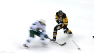 This Evgeni Malkin Goal Was Made Possible By An Amazing Through-The-Legs Dangle