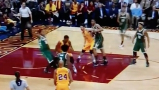 John Henson's Flop Is One Of The Most Absurd Attempts We've Seen