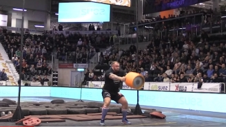 The Mountain From 'Game of Thrones' Set A World Record By Throwing A Beer Keg Ridiculously High