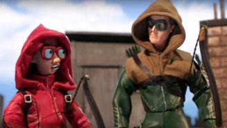 'Arrow' And 'The Flash' Get The 'Robot Chicken' Treatment
