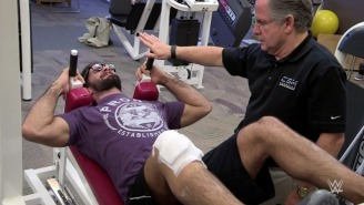 Seth Rollins Is Rehabbing His Knee Five Hours A Day, Is Recovering Ahead Of Schedule