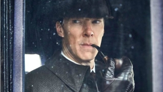 These Character Portraits From The 'Sherlock' Christmas Special Are Stunning