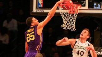 Ben Simmons Wows The Barclays Center With A Dominant 20-20 Performance