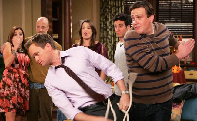 "Image result for Slapsgiving,"" How I Met Your Mother"