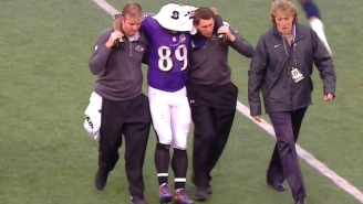 Steve Smith, Sr. May Have Injured His Achilles In The Final Play Of His Career