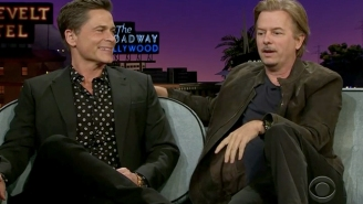 David Spade And Chris Farley Used To Fight Over Rob Lowe 'Like He Was A Chick'