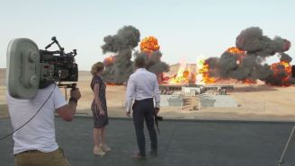 Watch This Behind-The-Scenes Look At The 'Spectre' Explosion That Set A Guinness World Record