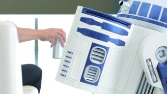The R2-D2 Moving Fridge That Will Bring You Beer Gets An Out Of This World Trailer