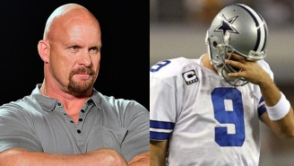 Stone Cold Steve Austin Says He Should QB The Dallas Cowboys Until Tony Romo Returns