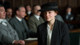 "Check out an Exclusive Featurette featuring Carey Mulligan in ""Suffragette"""
