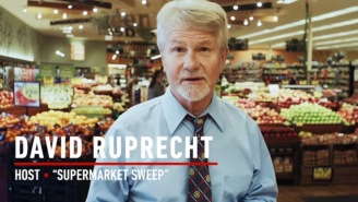 The host of 'Supermarket Sweep' says avoid meats and cheeses, pick hair products