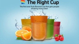 This Flavored Cup Will Save You From Yourself And Trick You Into Drinking More Water