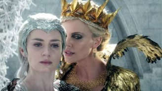 'The Huntsman: Winter's War' Trailer Features Jessica Chastain, Emily Blunt, Charlize Theron, And Insanity