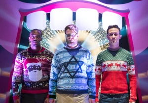 Review: 'The Night Before' offers up a wild and heartfelt holiday adventure