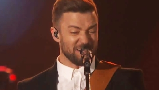 Justin Timberlake Let His Country Side Show By Covering A George Jones Classic At The CMAs