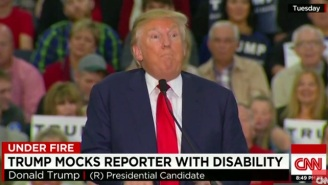 Donald Trump Did An 'Impression' Of A Disabled Reporter, And People Were Not Happy