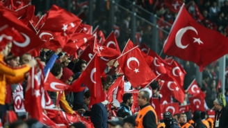Turkish Soccer Fans Booed And Chanted During A Moment Of Silence For Paris