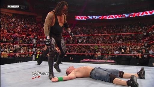 undertaker cena