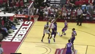 Our First Serious Dunk Of The Year Candidate Comes From A UNLV Freshman