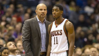 How Jason Kidd Sorta Burned Brandon Knight When Asked About Last Year's Trade