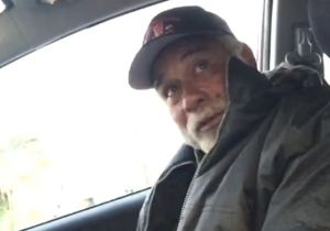A Simple Act Of Kindness Brings A Homeless Veteran To Tears