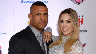 Vitor Belfort's Wife Says He Lost Millions Because Of UFC's Reebok Sponsorship Deal