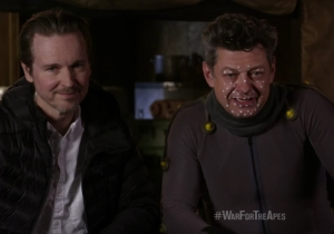 Andy Serkis wants you to join him in 'War for the Planet of the Apes'