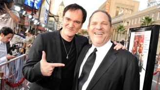 Harvey Weinstein Is Reportedly 'Furious' At Quentin Tarantino Over The 'Hateful Eight' Boycott