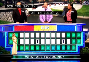 Watch A 'Wheel Of Fortune' Contestant Produce One Of The Most Bizarre Rounds Ever