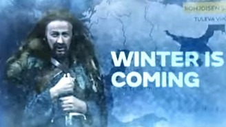 Winter Is Coming In This 'Game Of Thrones' Inspired Finnish Weather Report