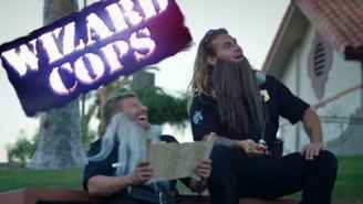 Don't pretend like you wouldn't watch a show called 'Wizard COPS'