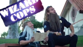The New 'Wizard Cops' Internet Series Is Like 'Cops' But So Much More Magical