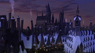 Here's Your First Look At Universal Hollywood's Wizarding World Of Harry Potter
