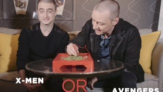 Daniel Radcliffe & James McAvoy Answer Life's Tough Questions While Playing 'Operation'
