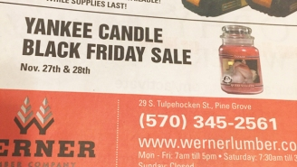 A Mischievous Graphic Designer Might Be Getting Fired Over This Candle Advertisement