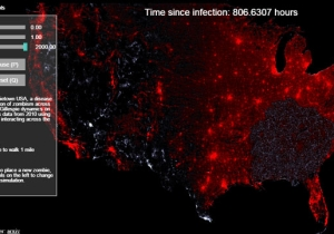 This Zombie Apocalypse Simulator Lets You Watch The Infection Spread Like Wildfire Across America