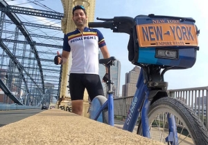 Whoa! This Dude Rode A Citi Bike From New York To California.
