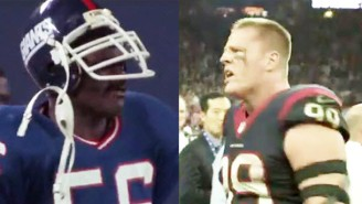 Watch This Marvelous Mash-Up Of J.J. Watt And Lawrence Taylor