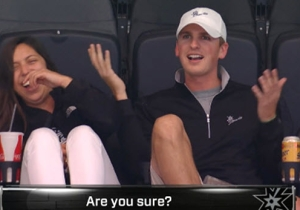 Watch What Happens When This Couple Gets Caught In An Awkward Kiss Cam Moment